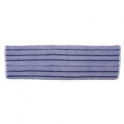 """Poduszka Premium niebieska 43x13 cm """"Prążek"""" ACT na mokro - mop na rzep płaski"""